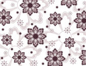 Floral Texture. Vector Background. — Stock Vector