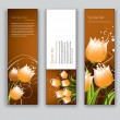 Vector Banners with Tulips. — Stock Vector #32088279