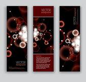 Vector de banderas. fondos abstractos. — Vector de stock