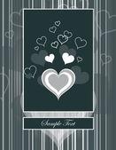 Hearts. Valentine's Day Background. — Vetorial Stock