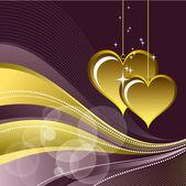 Valentines Day Background. — Stockvektor
