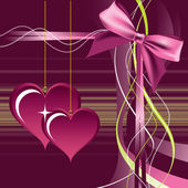 Valentines Day Background. — Vector de stock