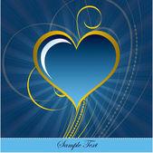 Heart. — Stockvektor