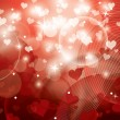 Stockvektor : Hearts. Valentine's Day Background.
