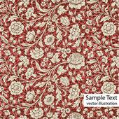 Patrón de papel tapiz — Vector de stock