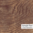 Vector wood texture - Stock Vector