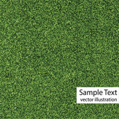Green grass texture vector — Stock Vector
