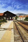 Old train station — Stock Photo