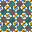 Texture of ancient ceramic tiles - Stock Photo