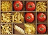 Pasta mix — Stock Photo