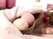 Bath additive — Stock Photo