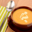 Soup of carrots — Stock fotografie