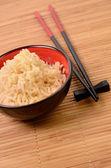 Bowl of rice — Stock Photo