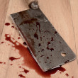 Butcher's cleaver — Stock Photo