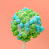 Colorful cake pop — Stock Photo