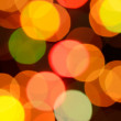Blurred lights — Foto de Stock