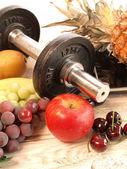 Fitness background — Stock Photo