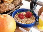 Fitness breakfast — Stock Photo