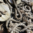 Stock Photo: Ships' rope