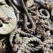 Ships' rope - Stock Photo