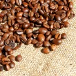 Brown roasted coffee beans — Stock Photo #12454354