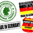 Made in Germany stamps — Grafika wektorowa