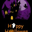 Halloween background — Vector de stock #12828798