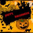 Happy Halloween grunge background — Stock Vector