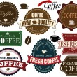 Set of coffee labels — Stock Vector #12855195