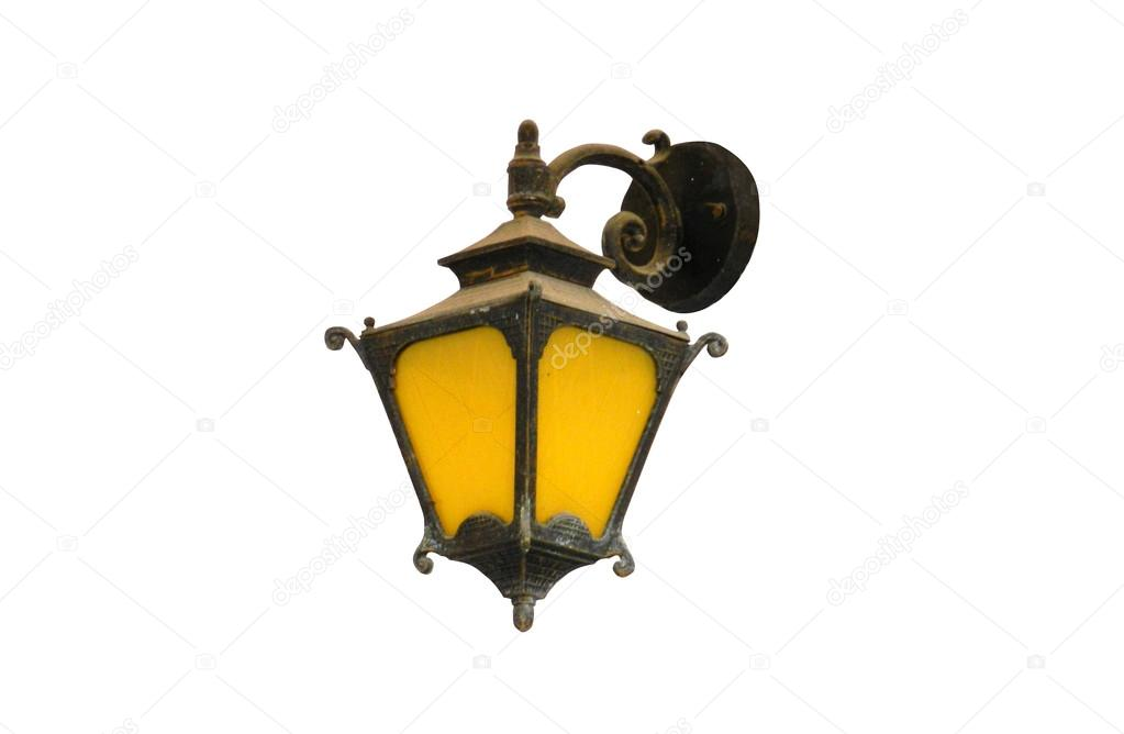 Lantern isolated on white background — Stock Photo #13370194
