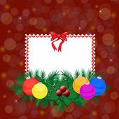 Eleganckie kartki świąteczne — Wektor stockowy