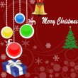 Merry Christmas background — Vettoriali Stock