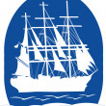 Постер, плакат: Sail ship in ocean