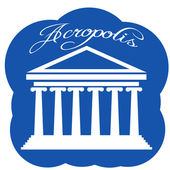 Greece Parthenon icon — Stock vektor