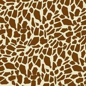Giraffe pattern — Stock Vector
