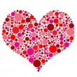 Valentines Day Heart - Stock Vector