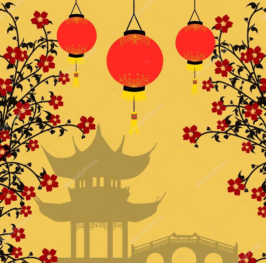 Asian style bac...