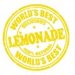 Lemonade stamp — Stock Vector