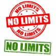 No limits stamps — Stock Vector