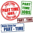 Part time stamps — Stock Vector #23546569