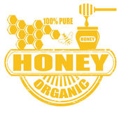 Honey stamp — Stock Vector