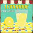 Lemonade poster - Stock Vector