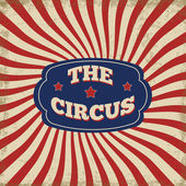 Vintage circus background — Stock Vector