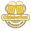 Stock Vector: Oktoberfest stamp