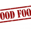 Stock Vector: Good food stamp