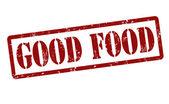 Good food stamp — Stock Vector