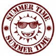 Summer time stamp — Stock Vector #27929973
