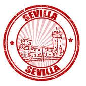 Sevilla stamp — Stock Vector