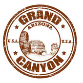 Grand Canyon stamp — Stock Vector