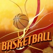 Stock Vector: Basketball poster